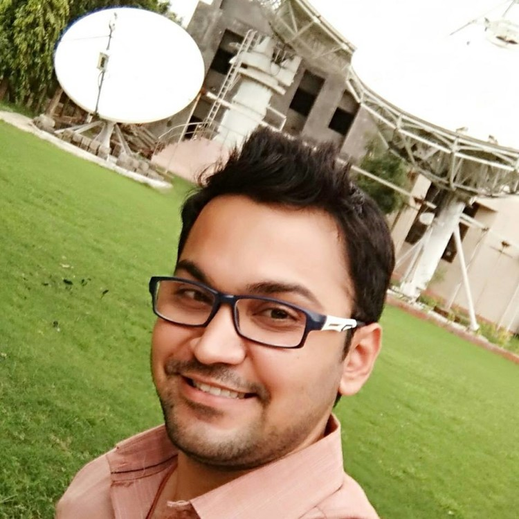 Selfie at BISAG, Gandhinagar. The place has helped me a lot to excel in my career.