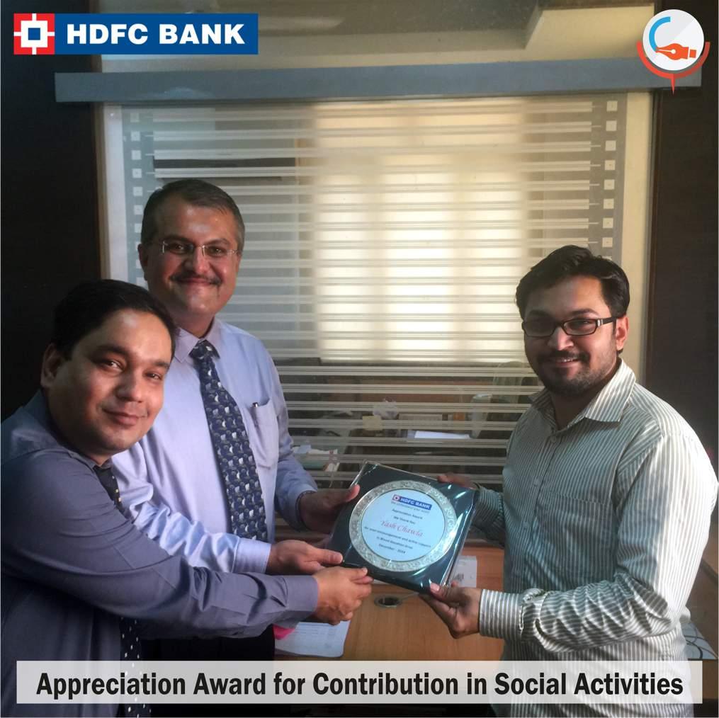 HDFC Award