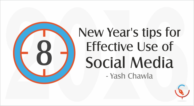 8 New Year's Tips for Effective Use of Social Media