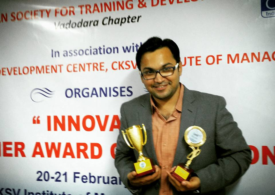 ISTD Innovative Trainer Award 2016