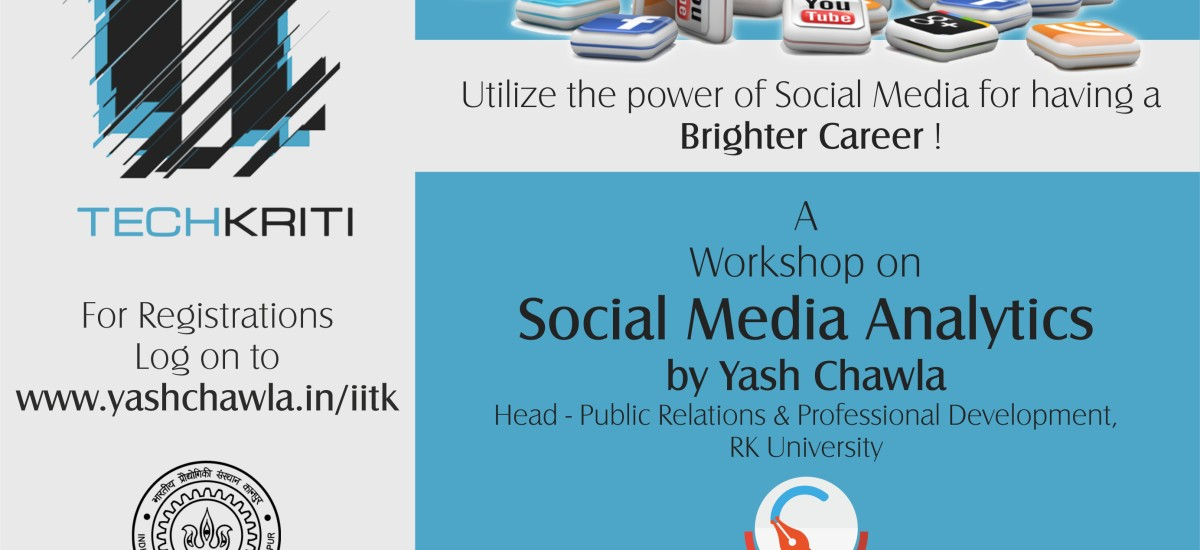YC's Workshop on Social Media Analytics at IIT – Kanpur