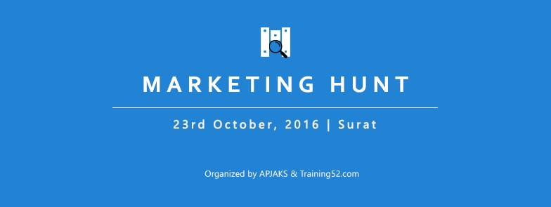 Marketing Hunt – A conference you shouldn't miss !