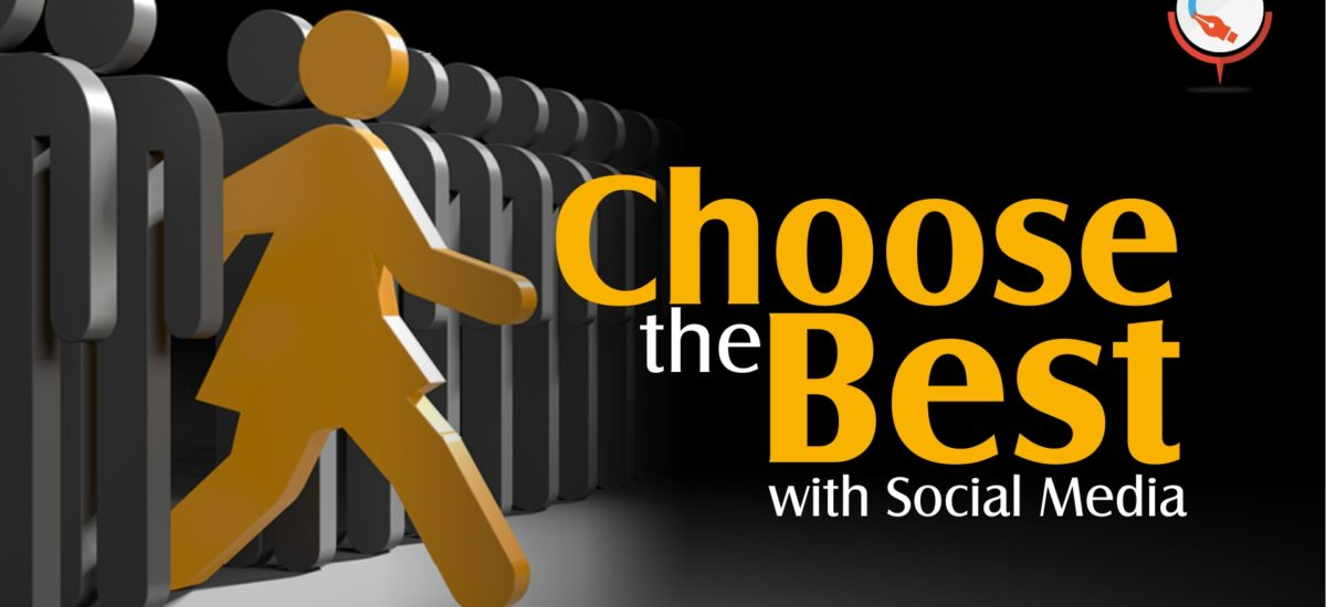 Use social media effectively, in selecting your College / University !