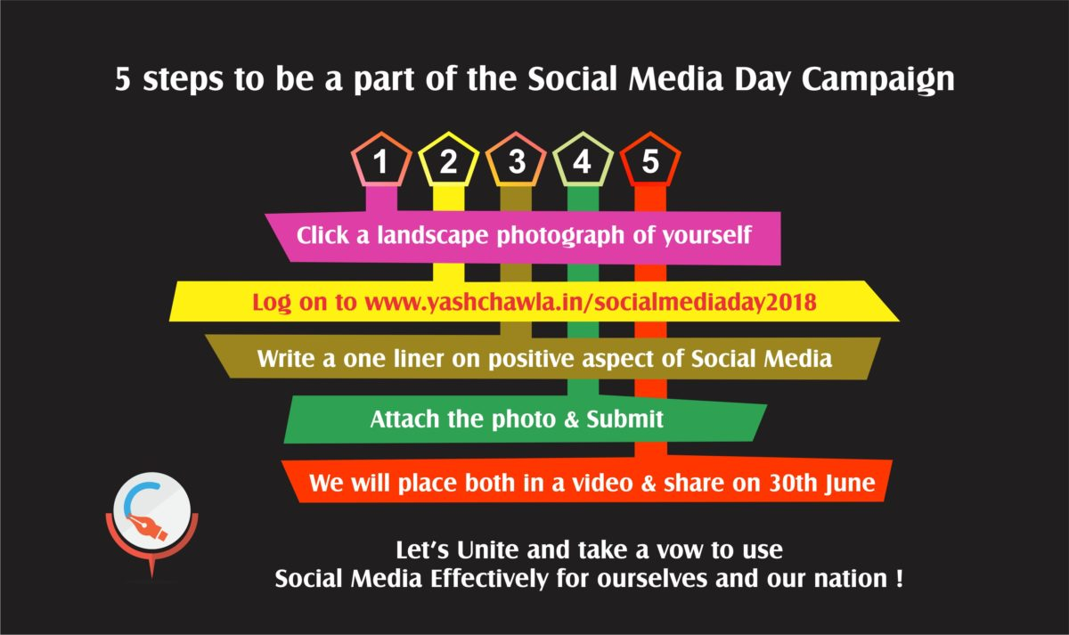 Be a part of the Social Media Day Campaign 2018