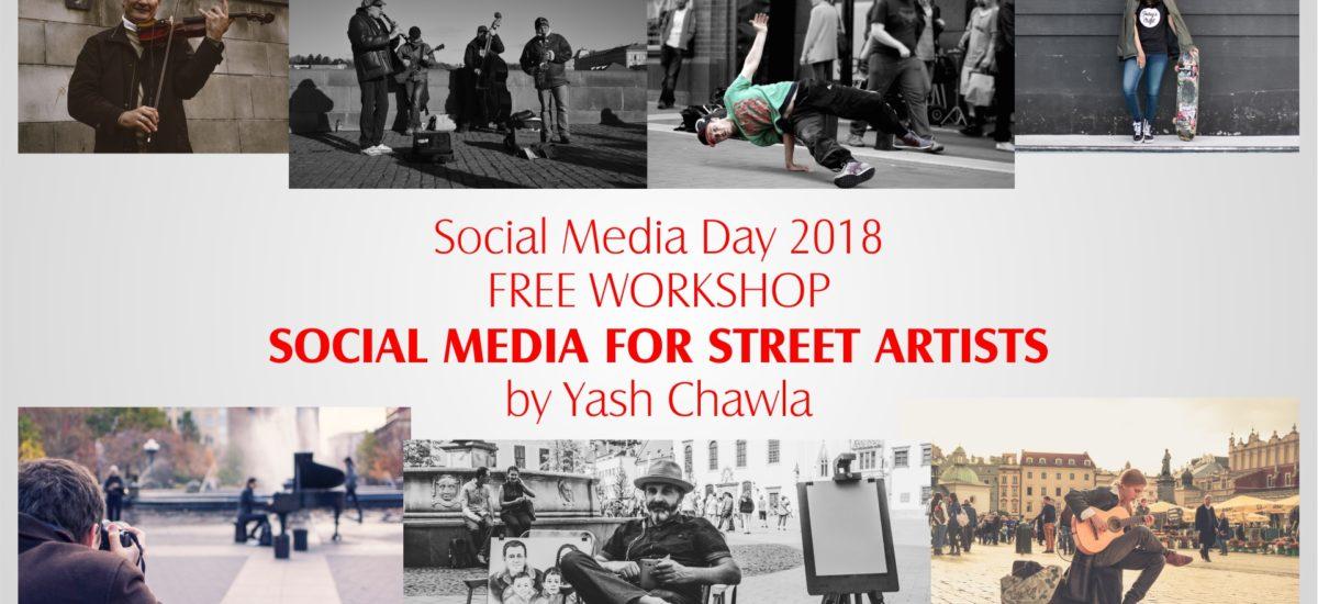 Workshop on Social Media for Street Artists