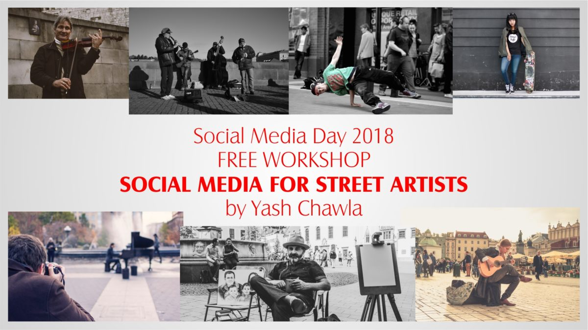 Workshop on Social Media for Street Artists